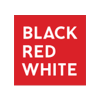 Black Red White kod rabatowy logo
